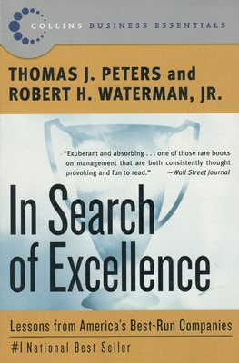 In search of excellence by peters waterman non fiction book reviews publicscrutiny Gallery